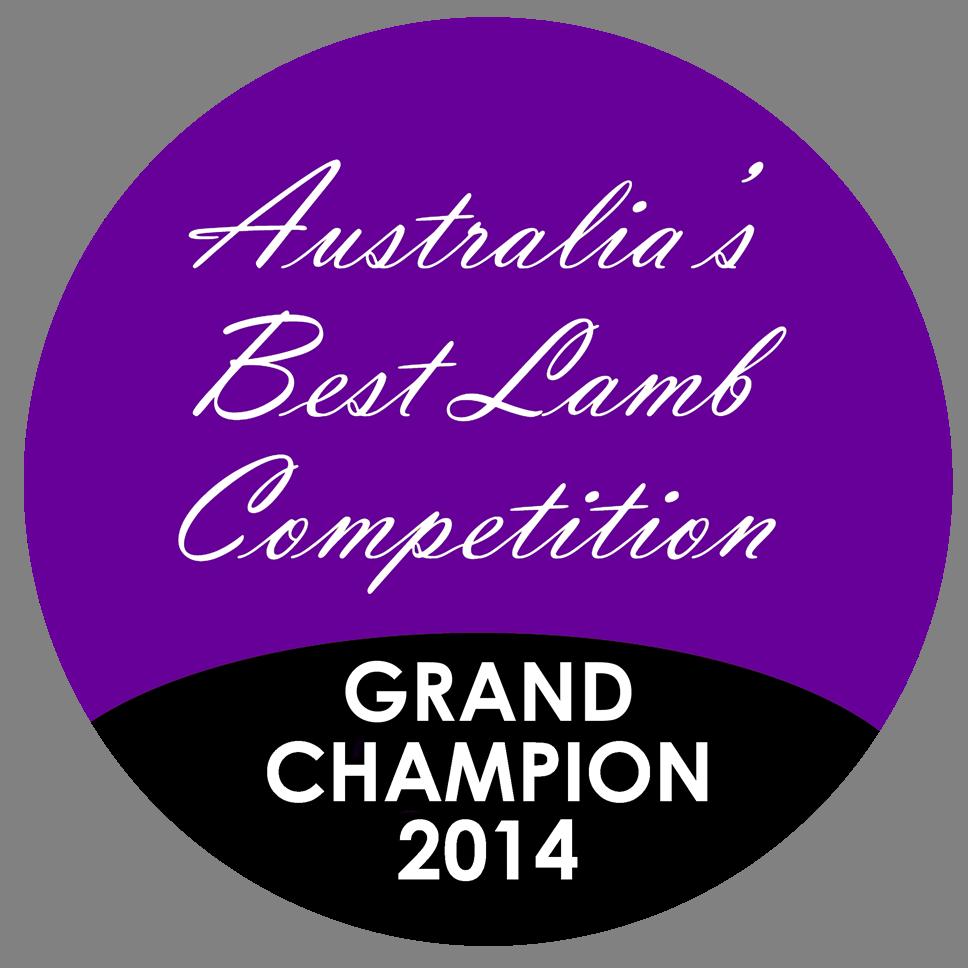 Grand Champion, Australia's Best Lamb Competition